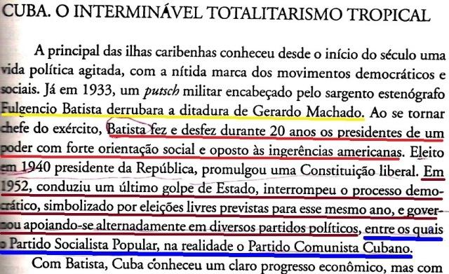 Cuba, Batista, o livro negro, fl. 769