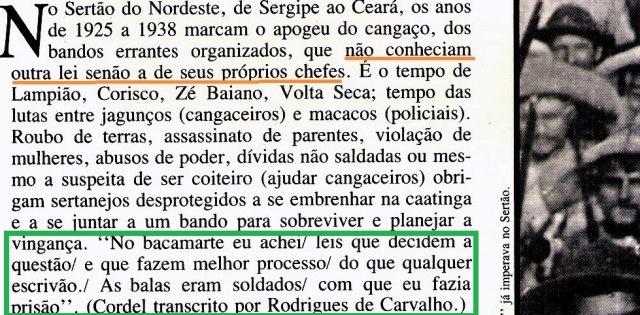 Lampião, Revista Nosso Século, 2