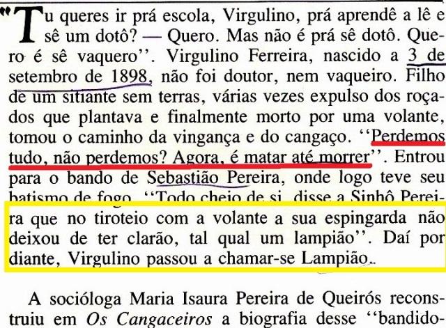 Lampião, Revista Nosso Século, 4