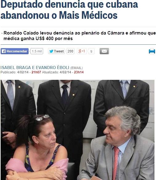 médica cubana, globo