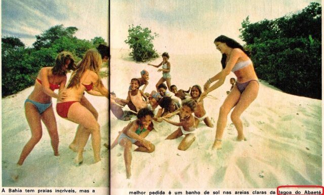 Salvador, Abaeté, 1974, Revista POP