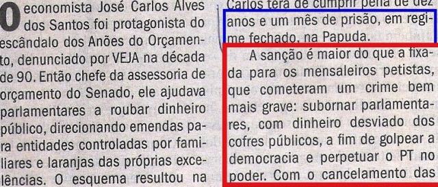 escândalo dos anões do orçamento, VEJA 19MAR14, JOSÉ CARLOS 2