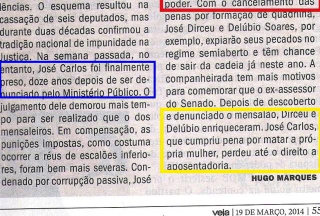 escândalo dos anões do orçamento, VEJA 19MAR14, JOSÉ CARLOS 3