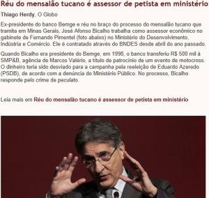 mensalão, PT, PSDB, EM FAMÍLIA