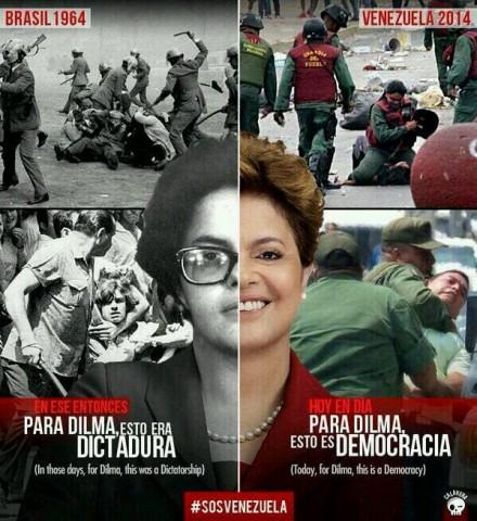 venezuela, Ditadura, democracia-Dilma-440x480