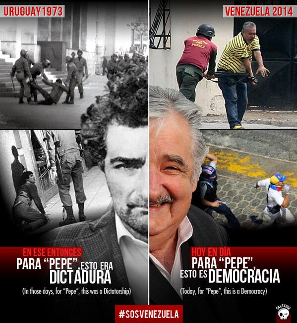 Venezuela, Ditadura-democracia-Pepe