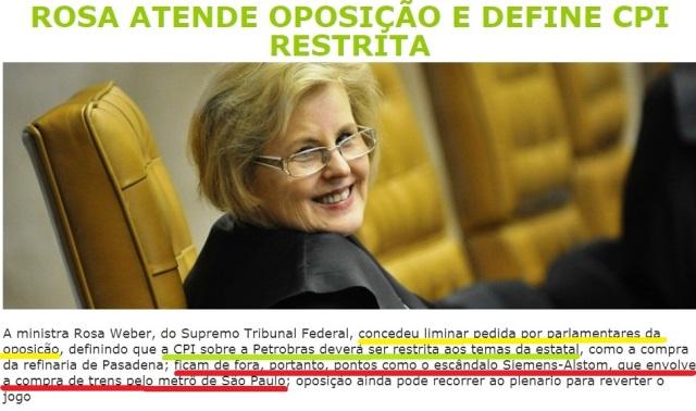 CPI DA PETROBRÁS, 247, ROSA WEBER