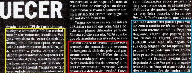 VARGAS, O DOLEIRO E O PLANO 3