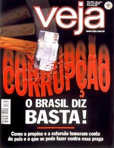 VEJA, O BRASIL DIZ BASTA DE CORRUPÇÃO