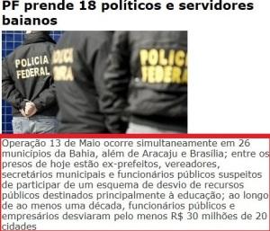 247, polícai federal prende na Bahia