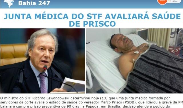 247, PRISCO, nada de PF prende prefeitos