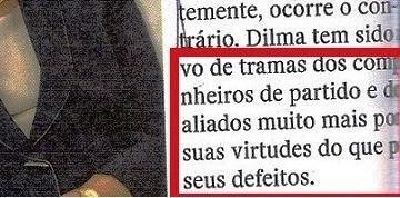 AS VIRTUDES DE DILMA, EDITORIAL, 3
