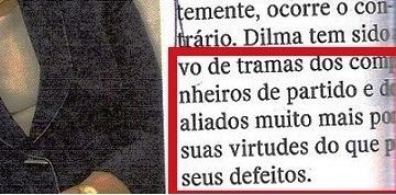 AS VIRTUDES DE DILMA, EDITORIAL, 3