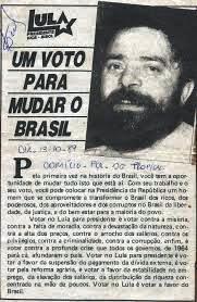 lula, um voto para mudar o brasil