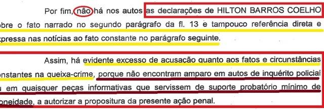 mp bahia, ação penal arquivada, EXTRATO 3