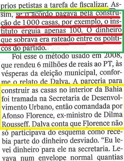 Veja, 24set, ISNTITUTO BRASIL, Canarana 8,   O CAMINHO DO DINDIN, Pelgrino
