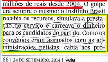 Veja, 24set, ISNTITUTO BRASIL, Canarana3