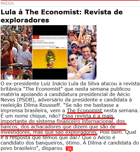 247, lula, the economist, EXPLORADOES
