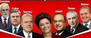 collor, sarney, dilma, lula, facebook