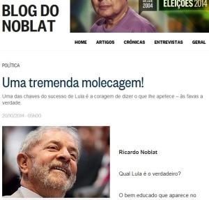 NOBLAT, UMA TREMENDA MOLECAGEM