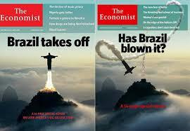 the economist, BRASIL PRA CIMA