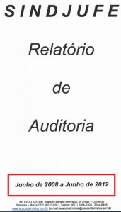 auditoria, relatorio JUNHO 2008 A JUNHO2012, 2