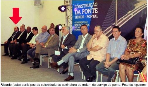 Ricardo Pessoa, utc, ilhéus