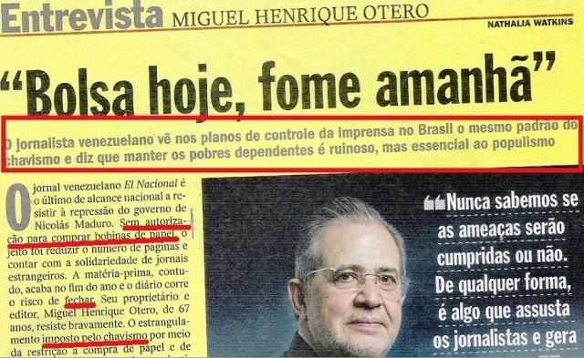 veja, 05nov14, jornalista venezuelano 1
