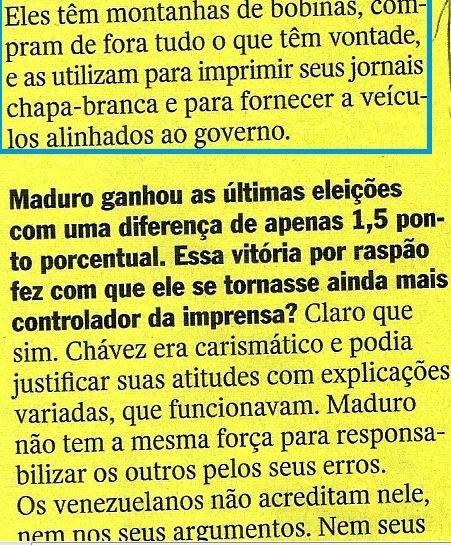 veja, 05nov14, jornalista venezuelano 17