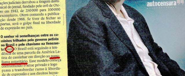 veja, 05nov14, jornalista venezuelano 2