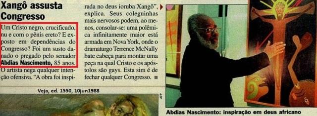 ABDIAS NAS IMENTO, CRISTO NEGRO