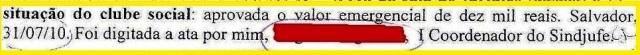 ATA DE 31JUL210, clube, 10mil