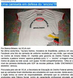 BRASIL escola, ENSINO COM C