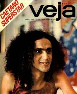 CAETANO VELOSO, CAPA Veja, 19jan1972