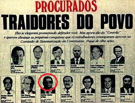 cut, pt, procurados, 1988
