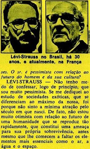 ESTRUTURALISMO, LEVY-STRAUS, 2, veja, 19jan1972