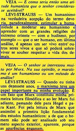 ESTRUTURALISMO, LEVY-STRAUS, 4, veja, 19jan1972