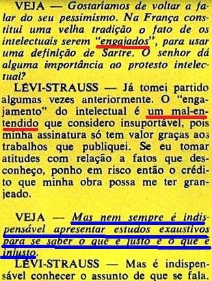 ESTRUTURALISMO, LEVY-STRAUS,9, veja, 19jan1972