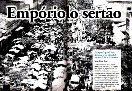 FEIRA, EMPÓRIO DO SERTÃO