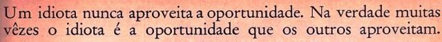 idiota, oportunidades, MILÔR , Veja fev1970