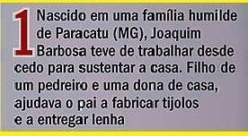 joaquim barbosa do Brasil, história, texto