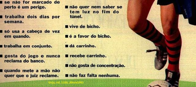 O ESPORTE DAS MULTIDÕES, 3, Veja 20nov1993