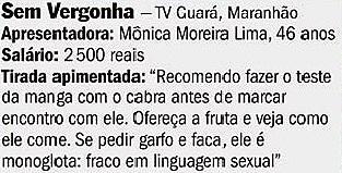 sem vergonha, maranhão, Mônica moreira Lima 2