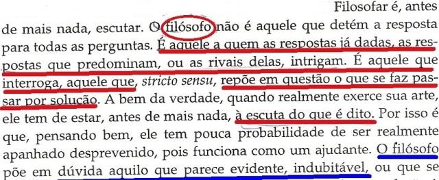 UM CAFÉ PARA SÓCRATES, fl.42