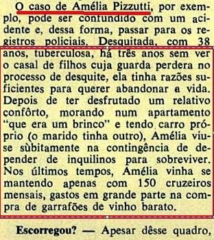 UM  CONTO REAL DE NELSO RODRIGUES,4, NATAL Veja, 5jan72