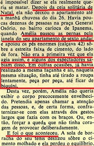 UM  CONTO REAL DE NELSO RODRIGUES,5, NATAL Veja, 5jan72