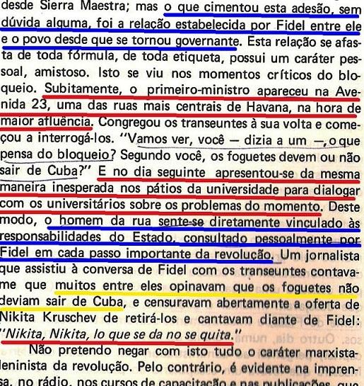 VARGAS Llosa, CONRA VENTO E MARÉ, fl. 30, fidel, Cuba