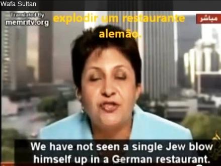 a árabe de 55 anos qeu mora nos EUA 10, os judeus não jogaram bomba 2