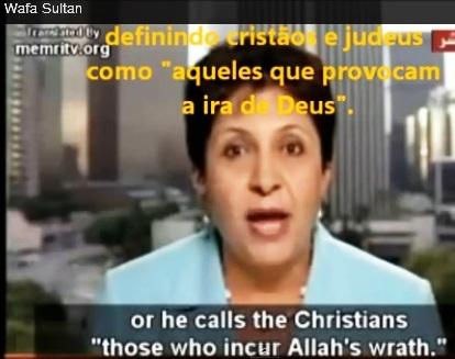 a árabe de 55 anos qeu mora nos EUA 7, cristão e  ira de deus