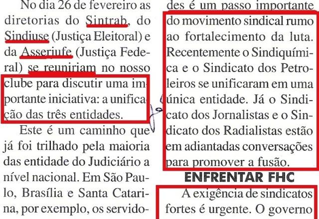 sintrab, 2002, UNIFICAÇÃO EM DEBATE, detalhe